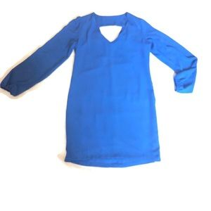 Eight Sixty Blue Long Sleeve V Neck Xtra Small